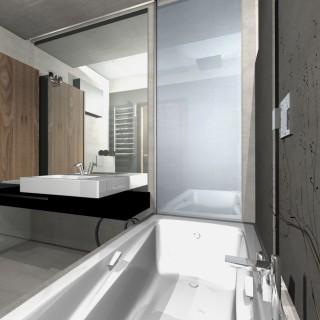 projekt łazienki nowoczesnej