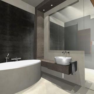 łazienka w marmurze projekt