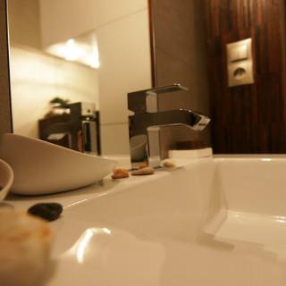 Aranżacja łazienki – mozaika + gres