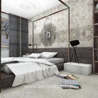 sypialnia zranzacjja vintage